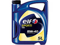 Масло ELF sporti TXI 15w40 SL/CF 5л