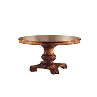 Итальянский классический раздвижной круглый стол коллекция GRAN GUARDIA  фабрика Francesco Pasi