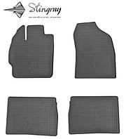 Ковры в автомобиль Toyota Prius  2012- Комплект из 4-х ковриков Черный в салон. Доставка по всей Украине. Оплата при получении