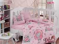 Комплект постельного белья для новорожденных Cotton Box Mini Pembe