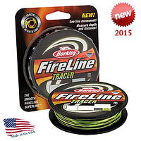 Шнур Berkley FireLine Fused Tracer 110m 0,12mm