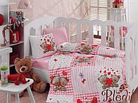 Комплект постельного белья для новорожденных Cotton Box Yumi Kahve