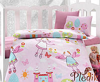 Комплект постельного белья для новорожденных Cotton Box Masal Pembe