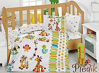 Комплект постельного белья для новорожденных Cotton Box Oyun Bahcesi