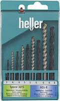 Набор сверл универсальный Heller 3-8 мм 9 шт