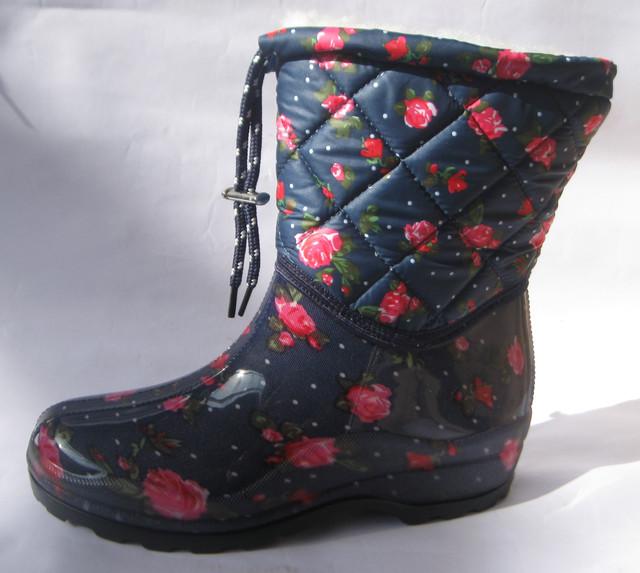 Женская силиконовая обувь