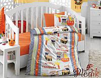 Комплект постельного белья для новорожденных Cotton Box Hazine Oranj