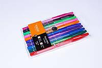Набір кулькових ручок Tukzar TZ-927-А-10,0.7 mm,різні кольори 10 шт., фото 1