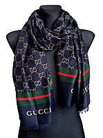 Шарф-палантин Gucci индиго