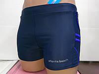 Плавки-шорты мужские Atlantis синий с электрик
