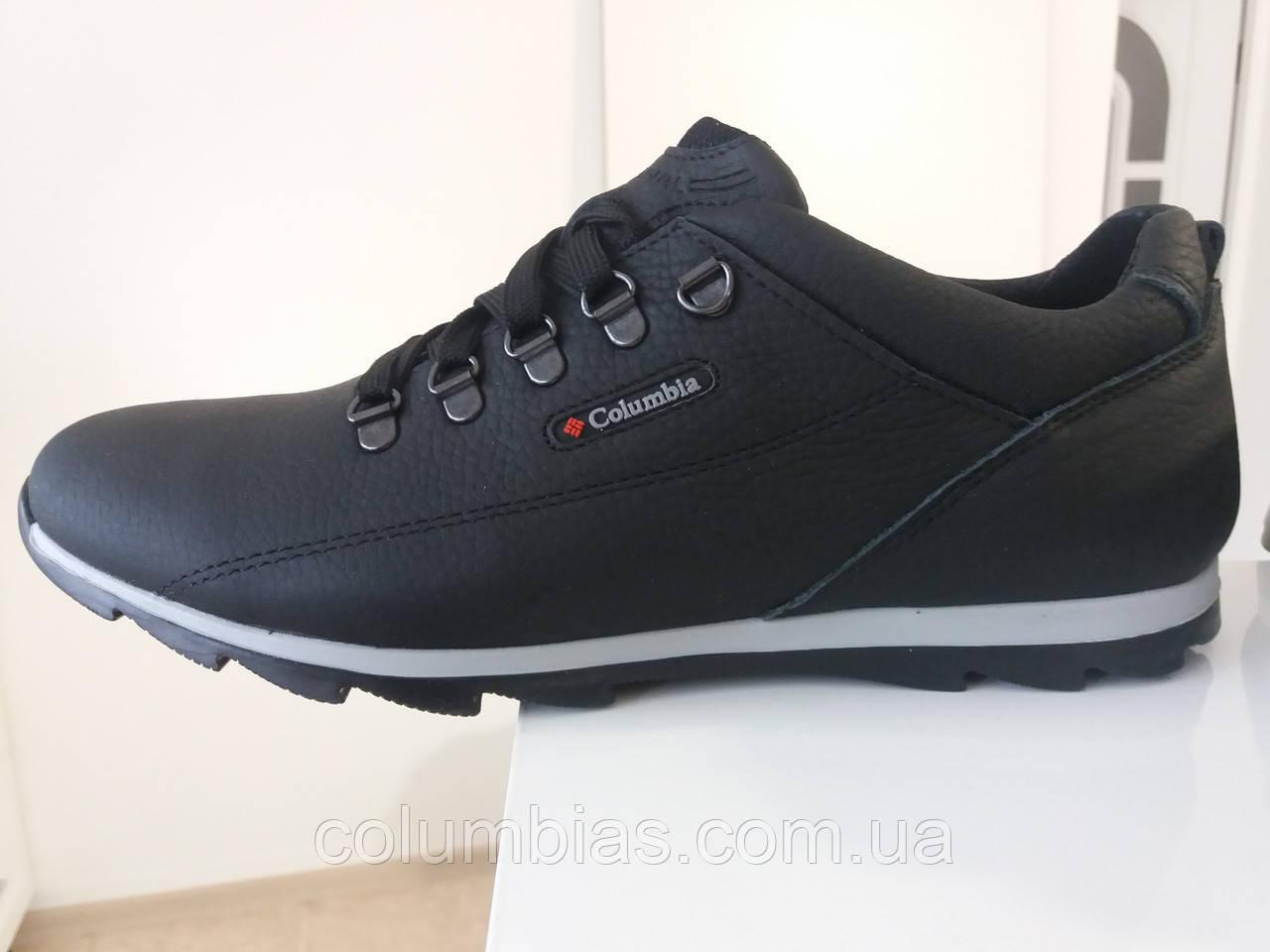 Крепкие кожаные кроссовки Сolаmbia