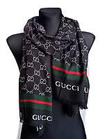 Шарф-палантин Gucci черный