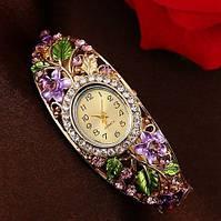 Наручные часы женские покрытие золото код 117