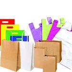 Пакети паперові, пакети пластикові