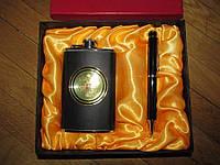 Фляга и ручка, подарочный набор, 5 oz. НОВЫЙ!
