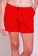 Классические женские шорты «Clear» red