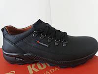 Полностью кожаные туфли для мужчин Соlumbia
