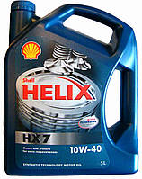 Масло Shell HX7 10w40 4л диз