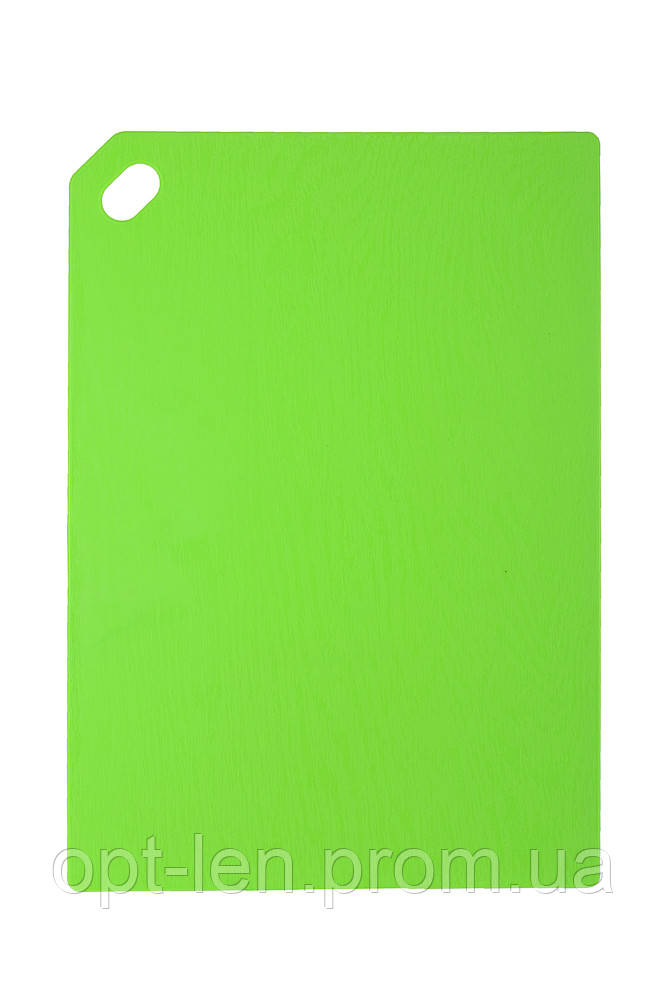 Доска разделочная жёсткая (29,5х20,5 см; цвет: в ассортименте)