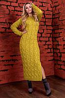 Платье вязаное Лало длинное