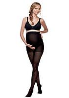 Колготы для беременных, черные 20 DEN