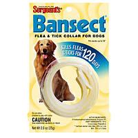 Sergeants Bansect БАНСЕКТ ошейник от блох и клещей для собак, 50 см