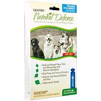 SENTRY Natural Defense СЕНТРИ НАТУРАЛЬНАЯ ЗАЩИТА капли от блох и клещей для собак и щенков, 1,5 мл, 1 пипетка