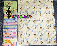 Комплект нежные ситцевые пеленки (10 шт), фото 1