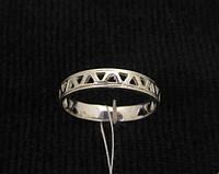 Кольцо серебро 925 проба 16 размер №1234