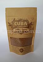 Пакет Дой-Пак крафт 150г 130х200 с печатью 1 цвет