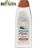 """Bielita - Шампунь-крем для волос """"Козье молоко"""" питание и восстановление слабых и ломких волос 500ml"""