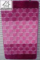 Набор ковриков для ванной комнаты 100*60 см  004