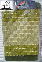 Набор ковриков для ванной комнаты 100*60 см  005