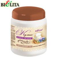 """Bielita - Бальзам для волос """"Кумыс"""" Укрепление волос + биоэнергия кисломолочных бактерий 450ml"""