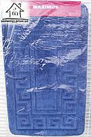 Набор ковриков для ванной комнаты 100*60 см  008