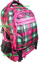 Рюкзак ранец для девочки школьный ортопедический, в клетку