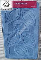Набор ковриков для ванной комнаты 100*60 см  010