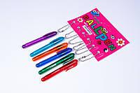Ручки брелок шариковые Winning WZ-2010,синие,0.7 mm,6 шт/упаковка, фото 1