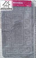 Набор ковриков для ванной комнаты 100*60 см  011