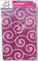 Набор ковриков для ванной комнаты 100*60 см  012