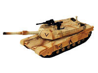 Объемный пазл Танк TANK M1A2 ABRAMS [DESERT CAMOUFLAGE] 4D Master (26326)