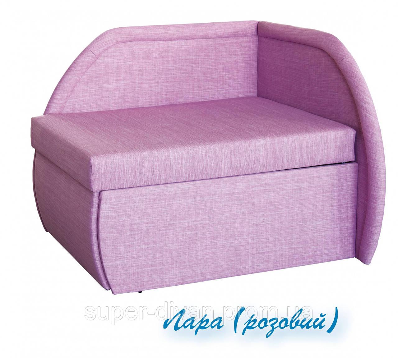 Детский диван Петрусь (Лара розовый)