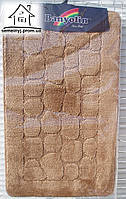 Набор ковриков для ванной комнаты 100*60 см  015