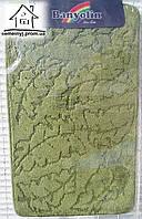 Набор ковриков для ванной комнаты 100*60 см  016