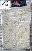 Набор ковриков для ванной комнаты 100*60 см  020