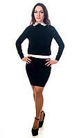 Костюм стильный женский черный, фото 1