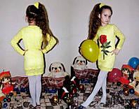 """Детское нарядное платье из гипюра """"Солнышко"""" (58-""""Солнышко"""")"""