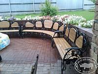 Кованый набор скамейок