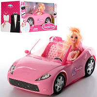 Кукла с машинкой K877-30D