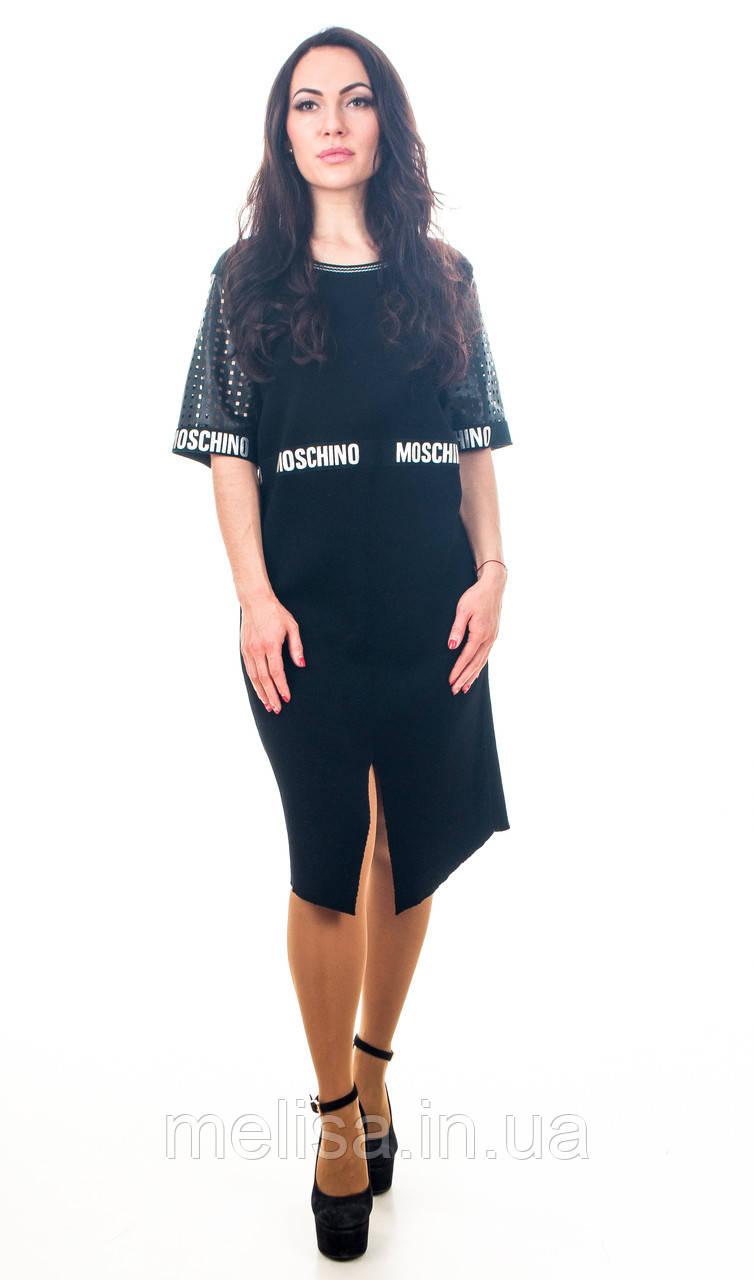 739691193f9 Платье черное Moschino - Интернет магазин женской одежды Melisa в Харькове